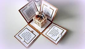 Papiernictvo - Najkrajší darček je náš čas... - 10175423_
