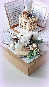 Papiernictvo - Najkrajší darček je náš čas... - 10175425_