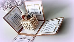 Papiernictvo - Najkrajší darček je náš čas... - 10175433_