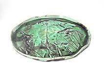 Nádoby - Misa zeleno čierna - 10176345_