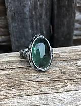 - Fluorit tmavší - prsteň - 10177277_