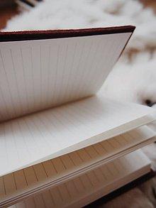 Iné - A6 zápisník z filcu