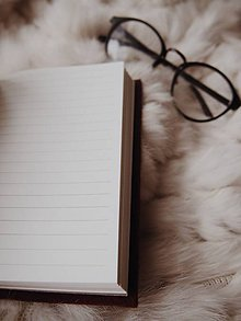 """Papiernictvo - A6 zápisník z filcu """"sivý šik"""" (Zápisník A6 linajkový) - 10175092_"""