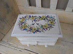 Krabičky - Vienok z lásky - 10174418_