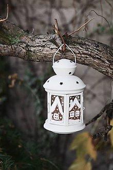 Svietidlá a sviečky - Voňavý lampášik - 10180159_
