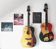 Hudobné nástroje - Maľba na gitaru - 10179551_