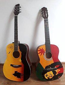Hudobné nástroje - Maľba na gitaru - 10179545_