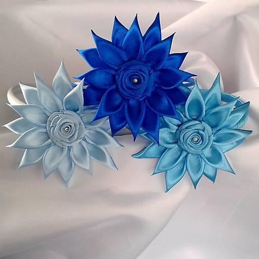 3318b273e Dievčenské čelenky modré odtiene / Ewwwelin - SAShE.sk - Handmade ...