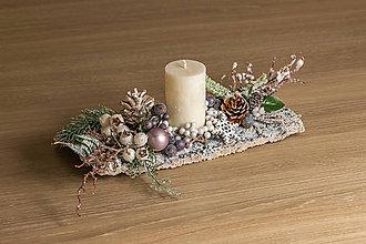 Dekorácie - Vianočná ikebana II. - 10180802_