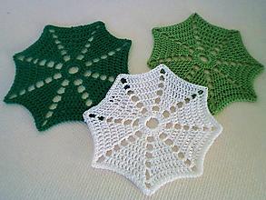 Pomôcky - Zeleno-biely set - 10182011_