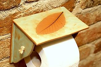 Dekorácie - Stojan na toaletný papier - 10182659_