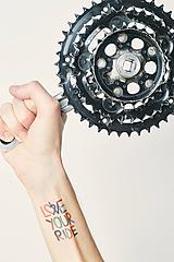 Nezaradené - Dočasné tetovačky - Bicyklové - 10179200_