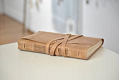 Papiernictvo - kožený zápisník na dotvorenie TABULA RASA - 10179798_
