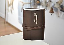 Papiernictvo - kožený zápisník - receptár SQUAW II. - 10179860_