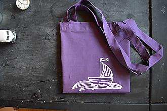 Veľké tašky - Loďka - taška - 10181221_