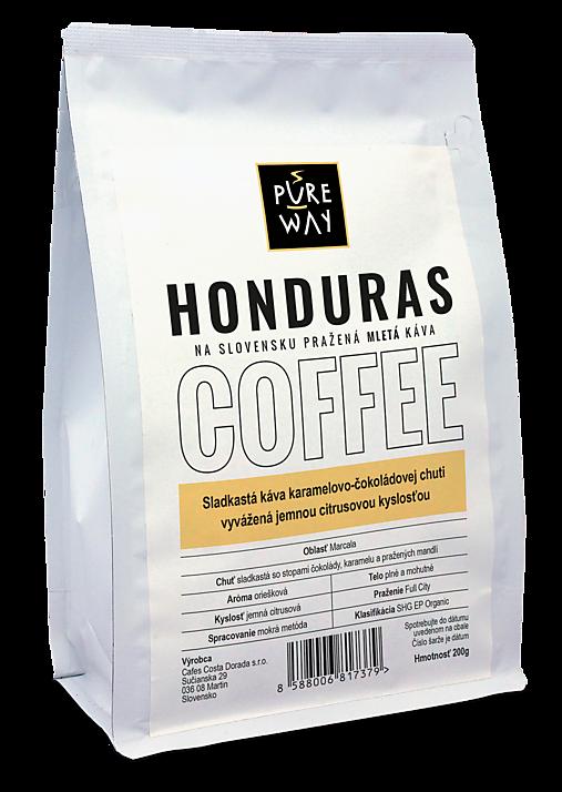 Mletá Honduras káva Pure Way, 200 g