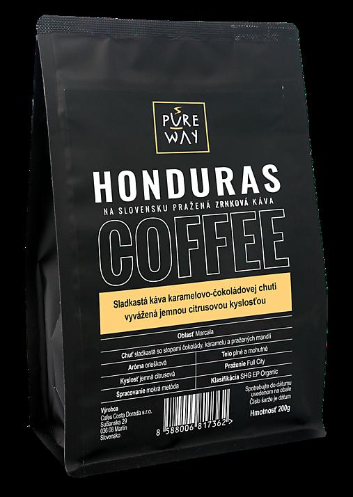 Zrnková Honduras káva Pure Way, 200 g