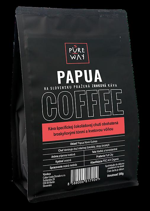 Zrnková Papua káva Pure Way, 200 g
