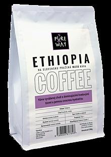 Potraviny - Mletá Ethiopia káva Pure Way 200 g - 10179920_