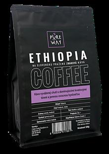 Potraviny - Zrnková Ethiopia káva Pure Way, 200 g - 10179929_