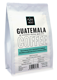 Potraviny - Mletá Guatemala káva Pure Way, 200 g - 10179930_