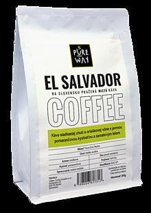 Potraviny - Mletá El Salvador káva Pure Way, 200 g - 10179957_