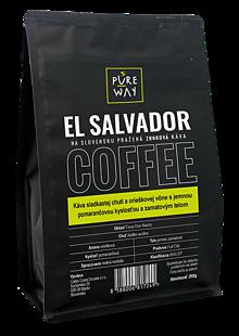 Potraviny - Zrnková El Salvador káva Pure Way, 200 g - 10179965_