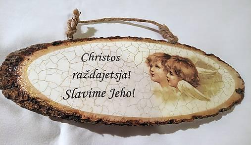 Vianočná tabuľka I.