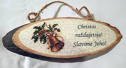 Tabuľky - Vianočná tabuľka II. - 10181425_