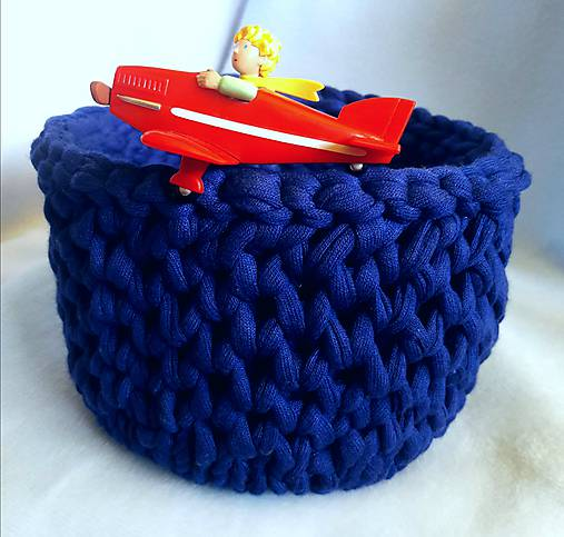 Modrý košík