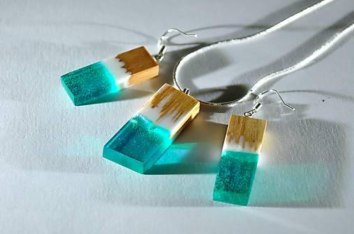 7997fc24c Drevený set náušnice a náhrdelník Zara / left - SAShE.sk - Handmade ...