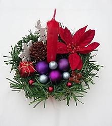 "Svietidlá a sviečky - Vianočný svietnik ""Jelenček II"" - 10180124_"