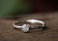 Prstene - ZAKÁZKA Vetvičkový zlatý s olivínom - 10183088_