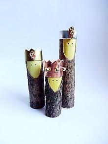 Dekorácie - Veselá trojka :) (traja králi) - 10182223_