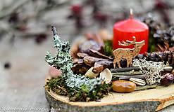Dekorácie - dekorácia na dreve - 10181613_