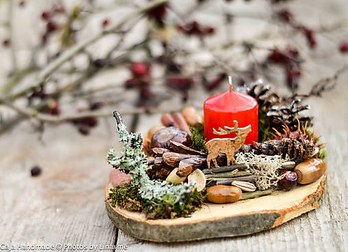 dekorácia na dreve