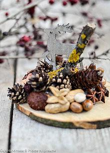 Dekorácie - dekorácia na dreve - 10181695_