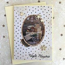 Papiernictvo - Vianočná pohľadnica - 10182892_