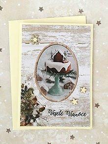 Papiernictvo - Vianočná pohľadnica - 10182914_