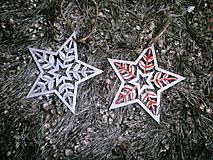 Dekorácie - Hviezdečky - sada 9 ks - 10181140_