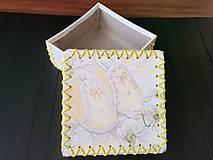 Krabičky - Dupačková krabička - 10180530_