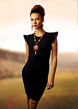 Šaty - Šaty Silhouette - všetky veľkosti - 10179937_