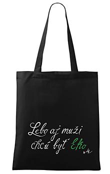 Nákupné tašky - Pánska eko taška byAK - 10179736_