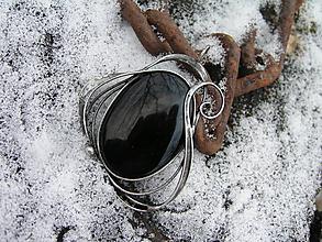 Náhrdelníky - Prívesok Onyx Doriles - 10180035_