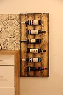 Dekorácie - Držiak na víno - 10181647_