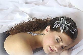 Ozdoby do vlasov - Zina šperk do účesu - 10180980_