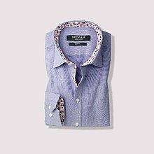 Košele - Svetlomodrá slim fit košeľa - 10179081_