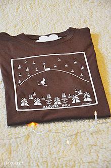 Oblečenie - chlapské tričko KRÁĽOVA HOĽA freerider - 10182557_