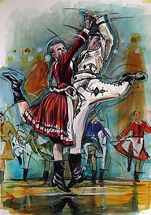 Obrazy - Tanec je radosť ! - 10181413_