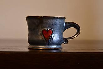 Nádoby - Srdce v ľade (8 x 6 cm , 170 ml) - 10179562_